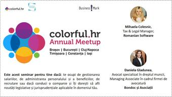 Colorful.hr Annual Meetup, HR la superlativ